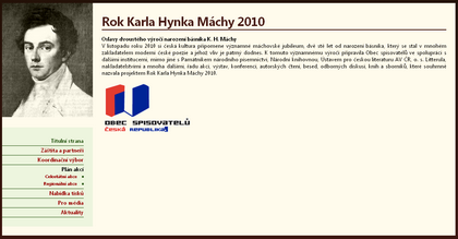 Rok Karla Hynka M&#225;chy 2010