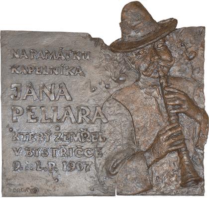 Jan Pellar (Pelár) - pamětní deska