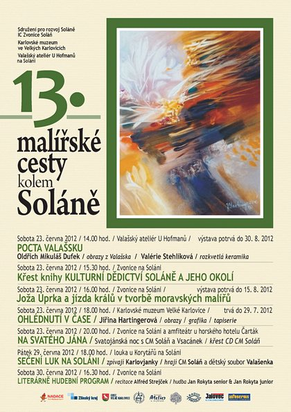 13. Mal&#237;&#345;sk&#233; cesty kolem Sol&#225;n&#283;