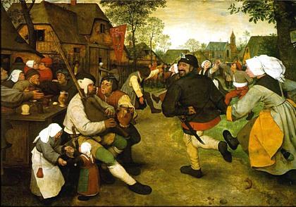 Pieter Bruegel starsi: Venkovský tanec