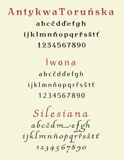 Polské fonty zdarma