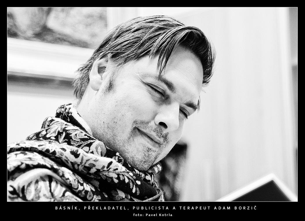Básník, překladatel, publicista a terapeut Adam Borzič