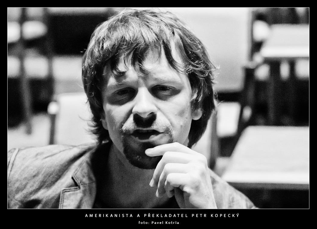 Amerikanista a překladatel Petr Kopecký