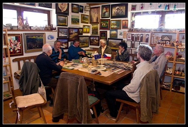 Schůzka redakce a autorů soláňské edice