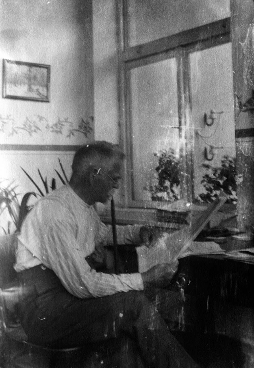 Jan Rous na fotografii z roku 1937