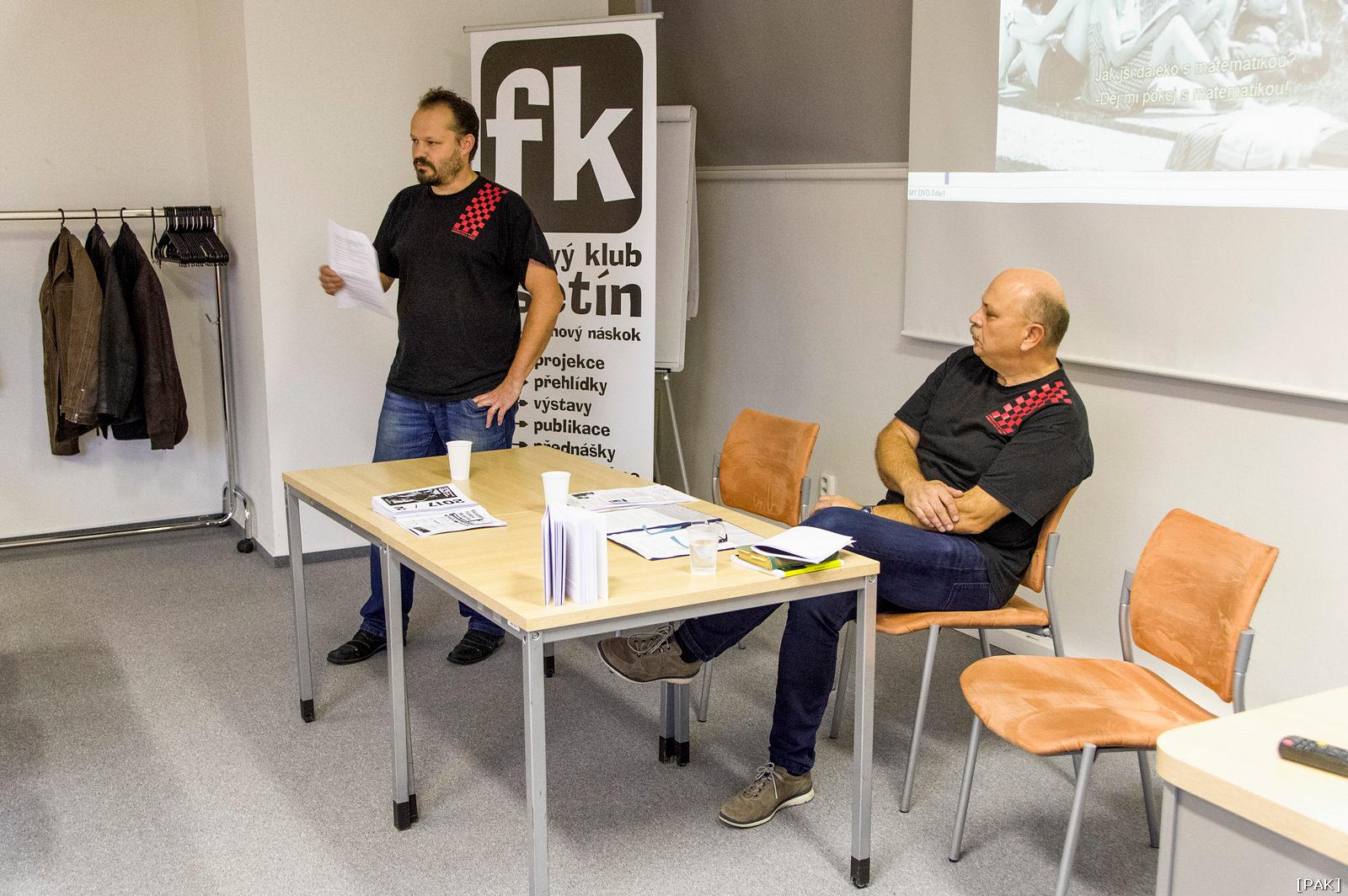 Jiří Fiala a Milan Kostelník