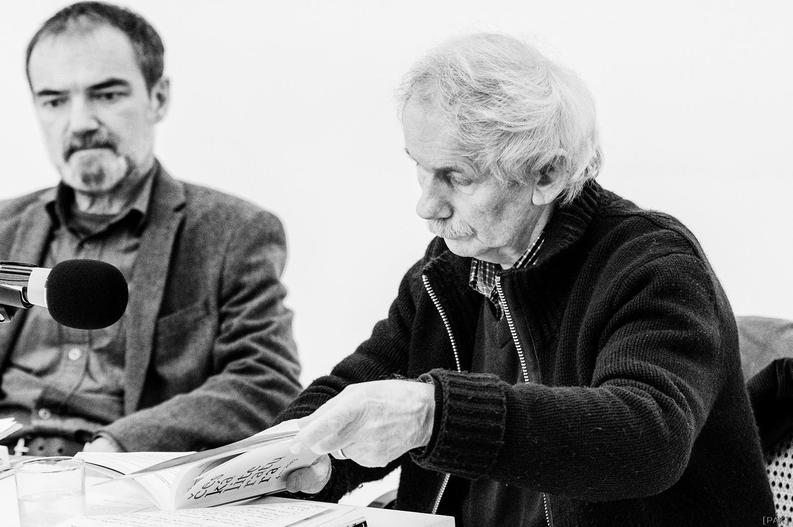 Vladimír Hauser a Miloslav Topinka