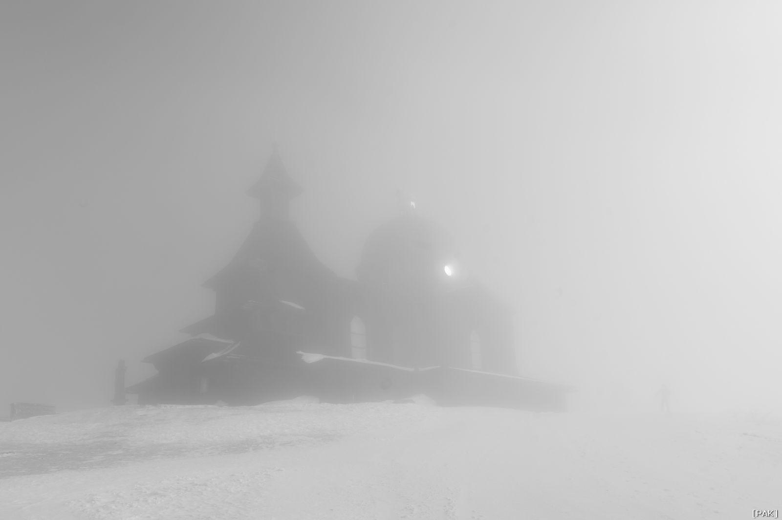 Radhošť - Kaple svatého Cyrila a Metoděje