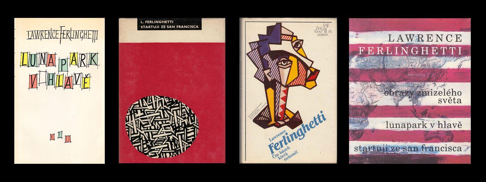 Lawrence Ferlinghetti - básnické knihy