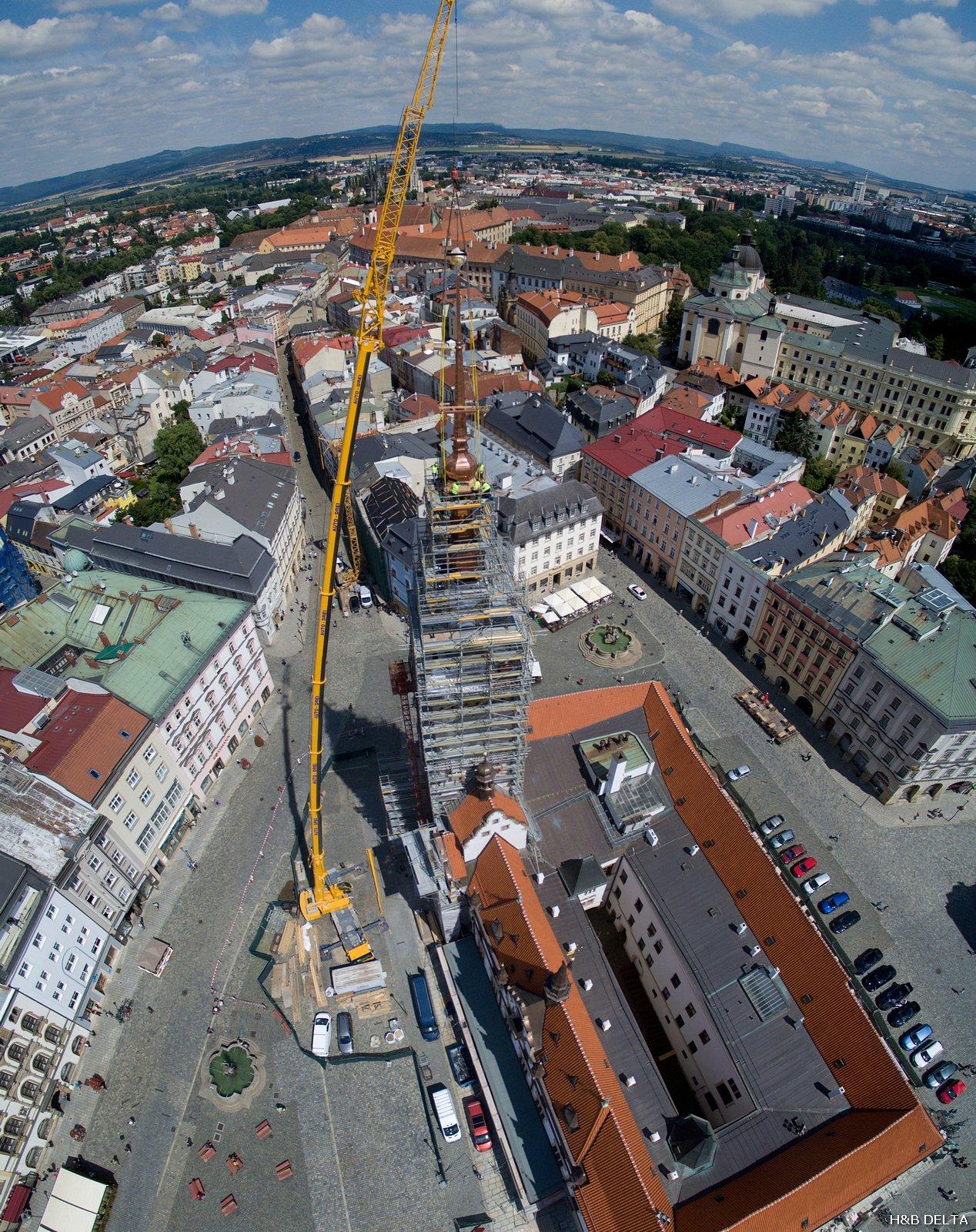 Olomouc - věž radnice